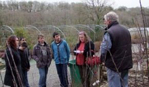 Atelier permaculture collège Beg Avel Carhaix